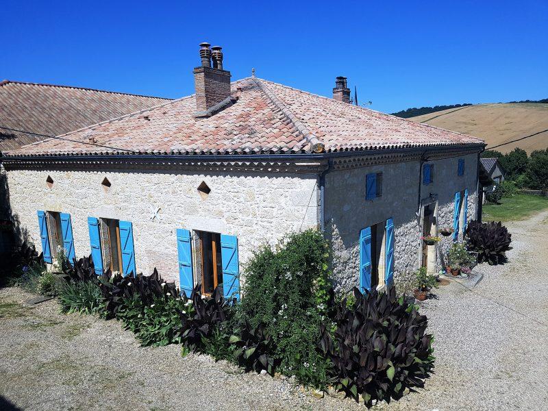 maison gasconne à vendre près de Saint-Clar 32