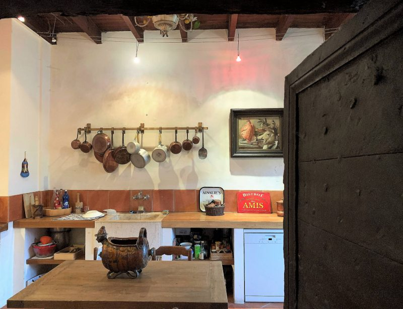 maison avec cuisine ancienne à vendre dans le gers 32