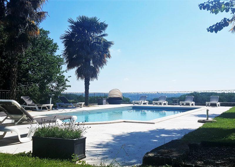 domaine avec piscine en vente près de lectoure