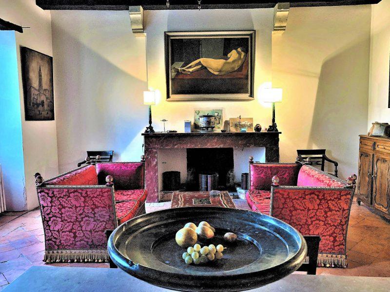 acheter une maison ancienne avec grand salon et cheminée dans le gers 32