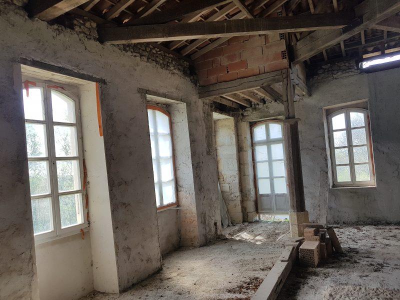 achter un chateau à restaurer dans le gers pour 575000 euros