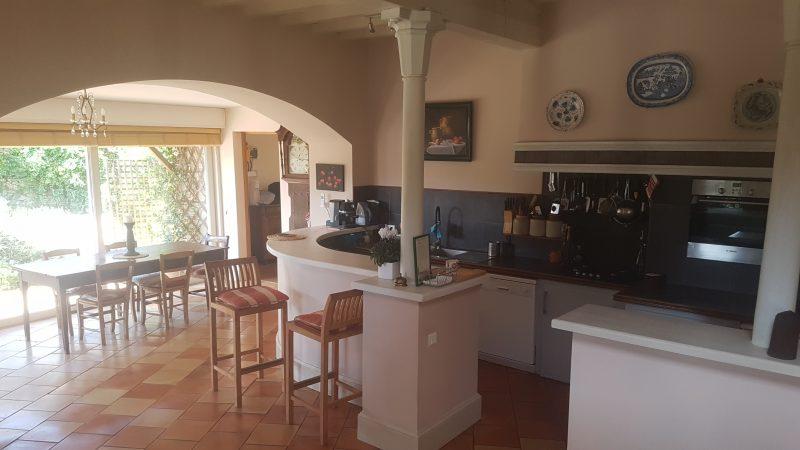 maison à vendre avec cuisine américaine Gers 32