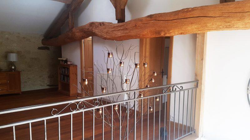 grange rénovée avec mezzanine