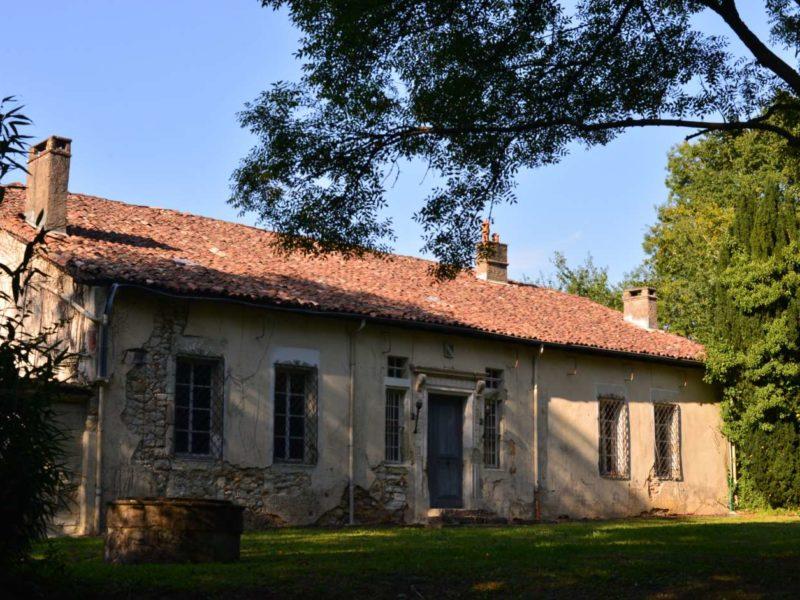 29 façade Sud du château