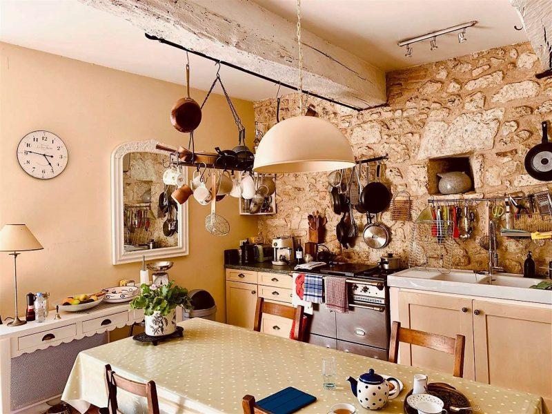 maison ancienne avec grande cuisine à vendre dans le Gers