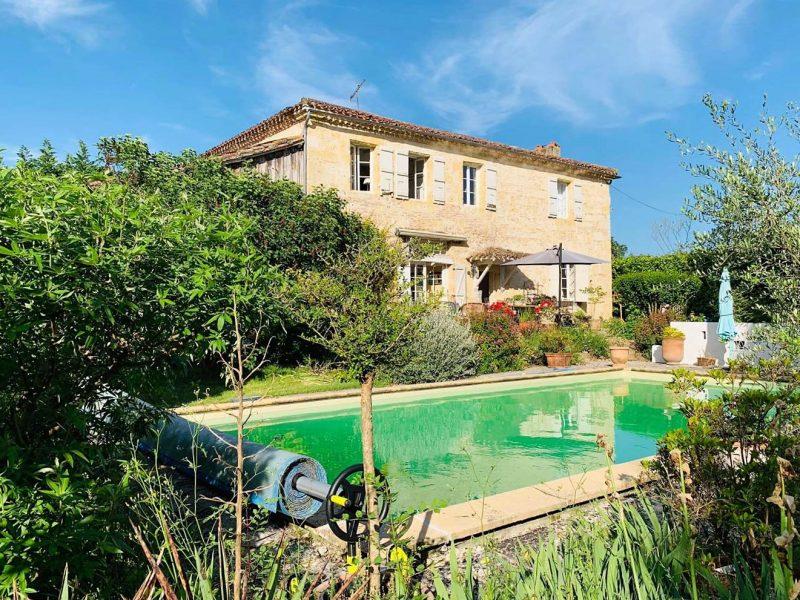 maison avec piscine à vendre près de Lectoure Gers 32