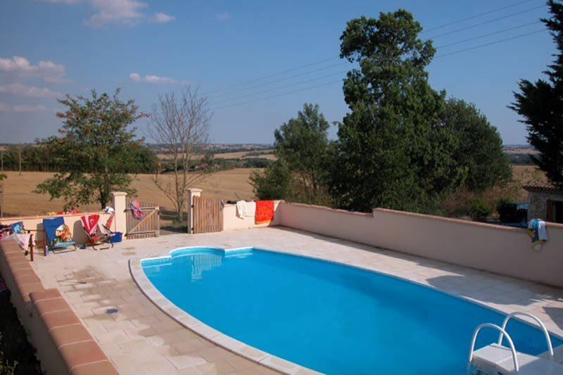 Maison de campagne & piscine