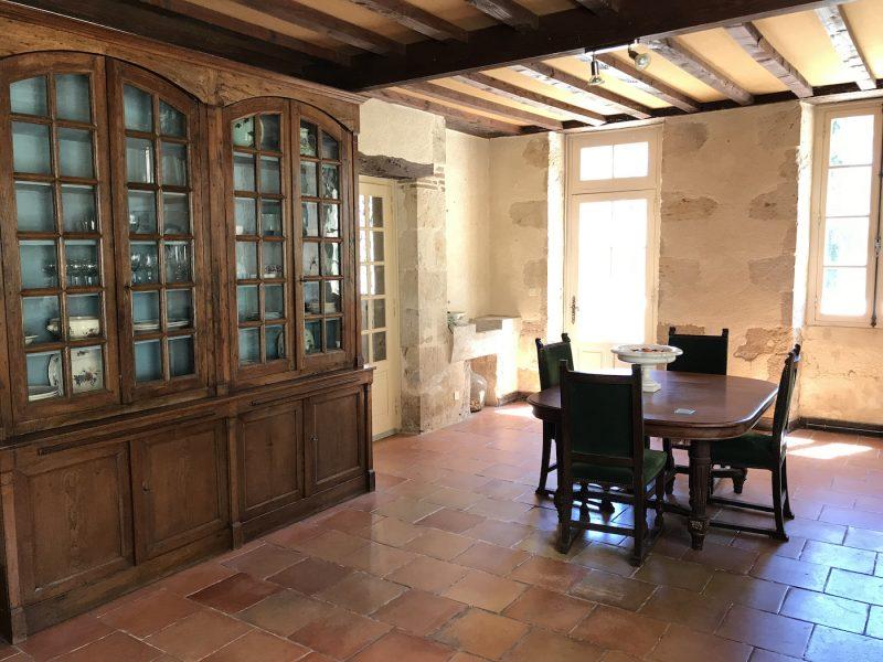 maison typique du Gers à vendre