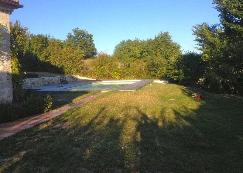Maison de campagne en pierre & piscine