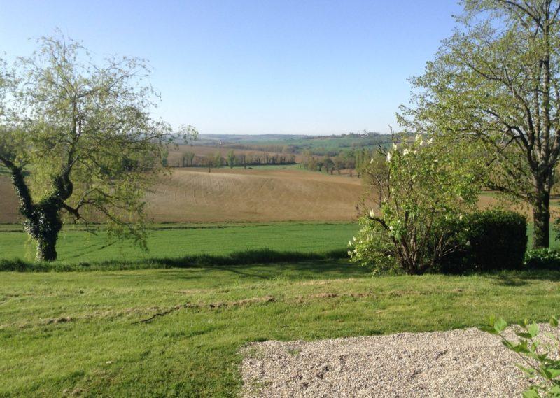 Chartreuse avec vue vers le sud