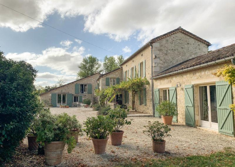 maison restaurée à vendre dans le Gers 32 Lectoure
