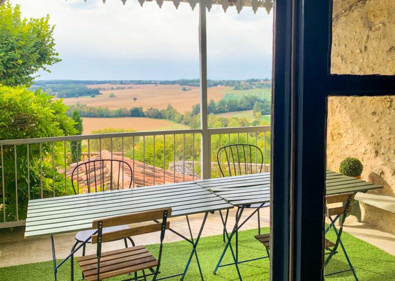 maison au calme avec vue à vendre dans le Gers