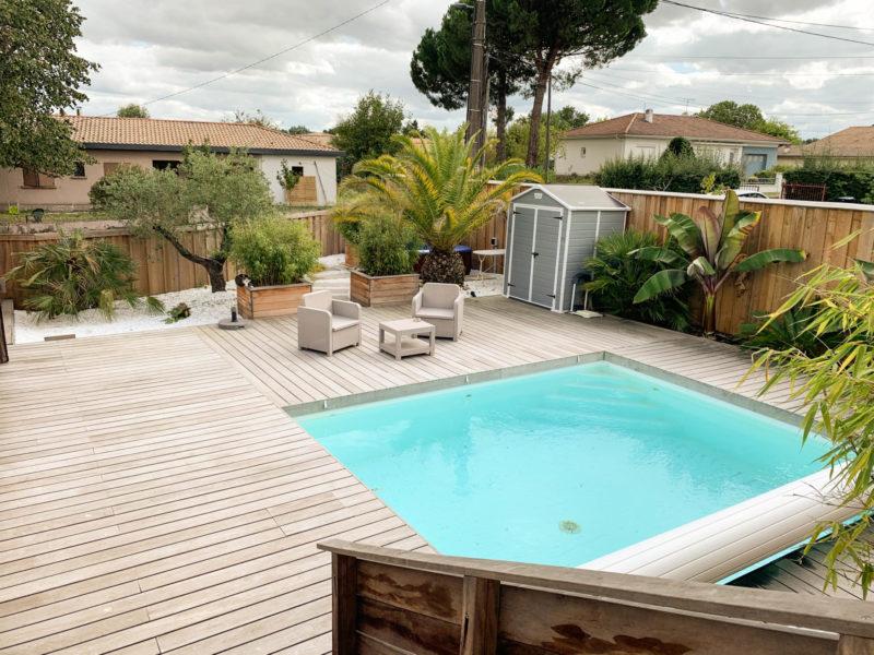 maison à vendre avec piscine près de Bordeaux