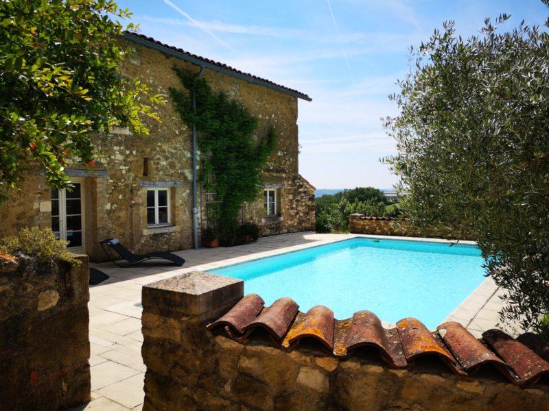 maison avec piscine à vendre près d'Auch