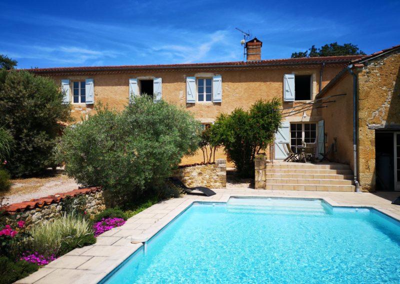 maison avec piscine pa vendre près d'Auch Sud Ouest