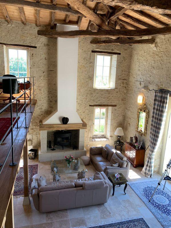 acheter une maison avec grande cheminée dans le Gers