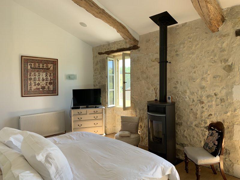 acheter une maison dans le Gers avec poele à bois
