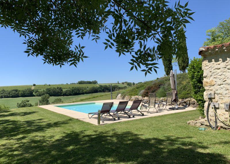 maison en vente avec piscine dans le Gers