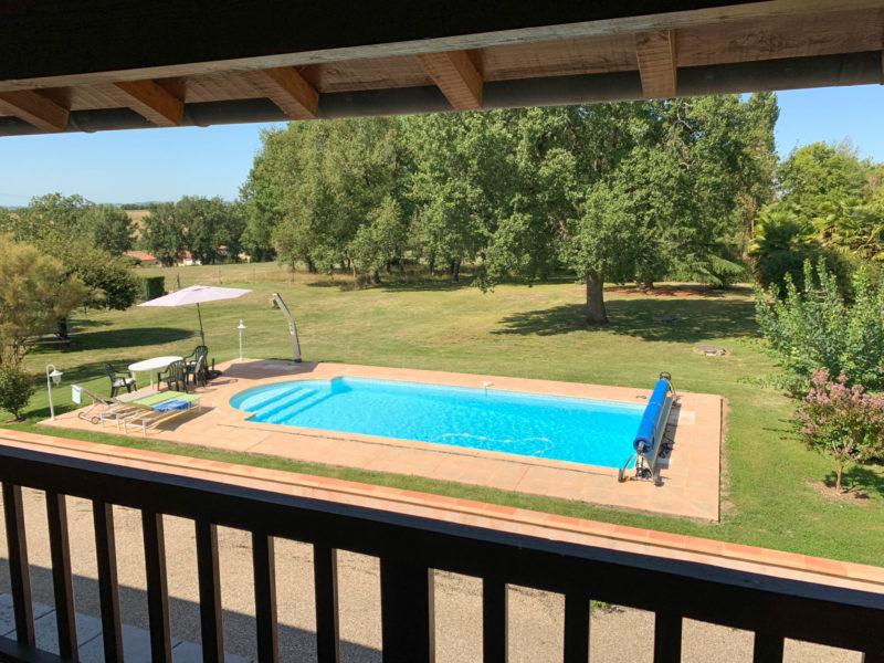 Maison avec grande piscine à vendre dans le Gers