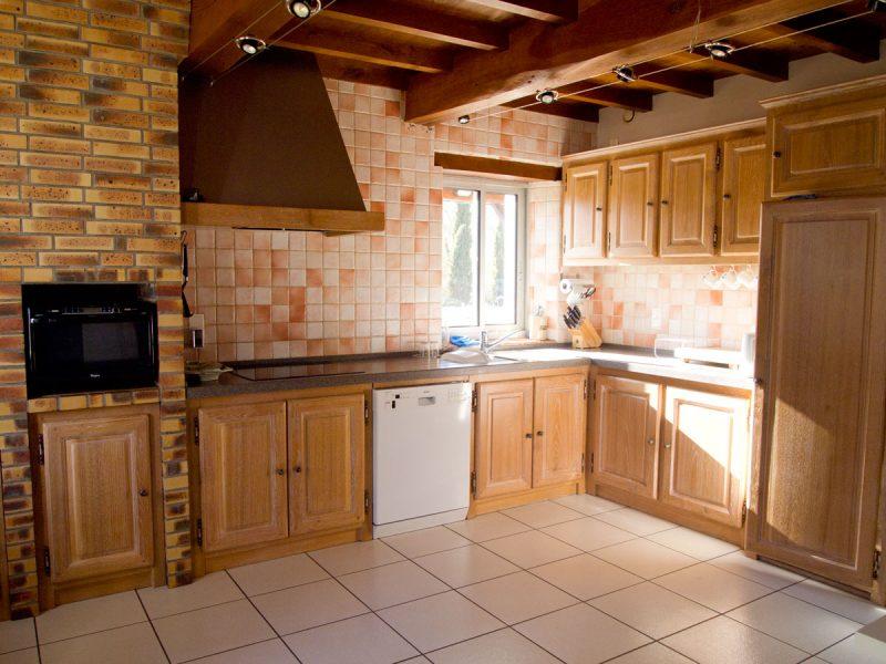 maison avec grande cuisine à vendre près de Condom 32