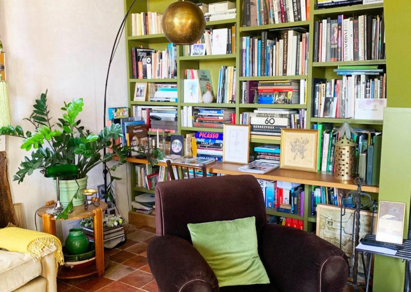 maison ancienne à vendre avec bibliothèque