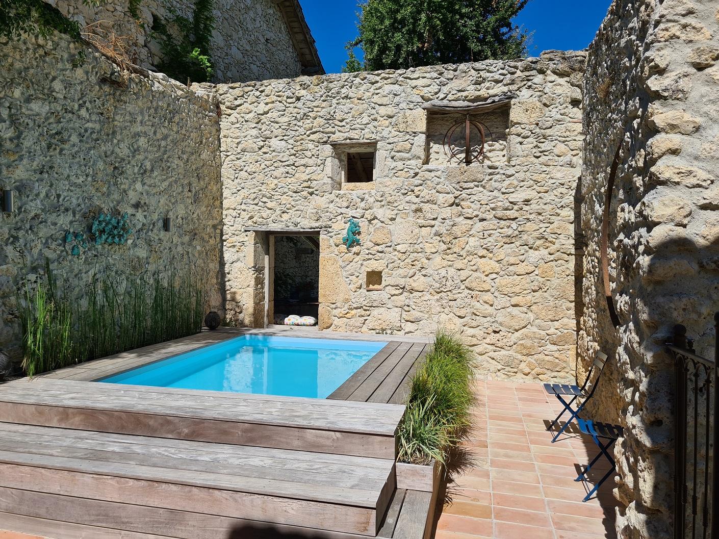 maison à vendre avec piscine dans les landes