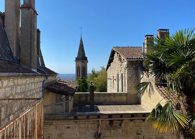 Panorama du Gers depuis le balcon